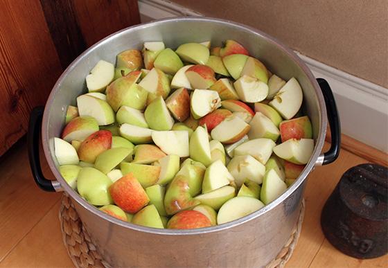 Enklaste äppelmusten