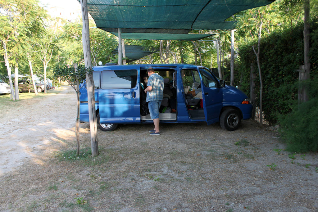Bilen i Tropea