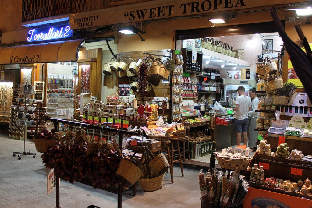 Butik i Tropea