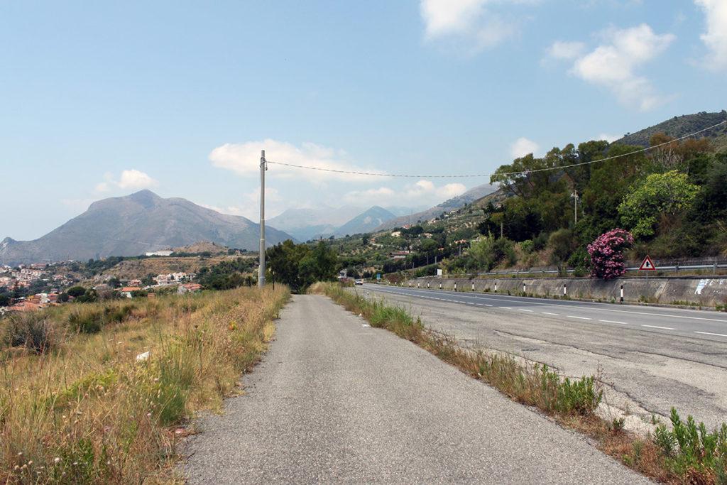 Ett stopp längst Italiens kust i provinsen Cosenza