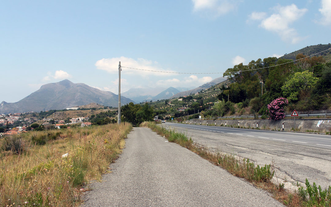 Längst södra Italiens vägar