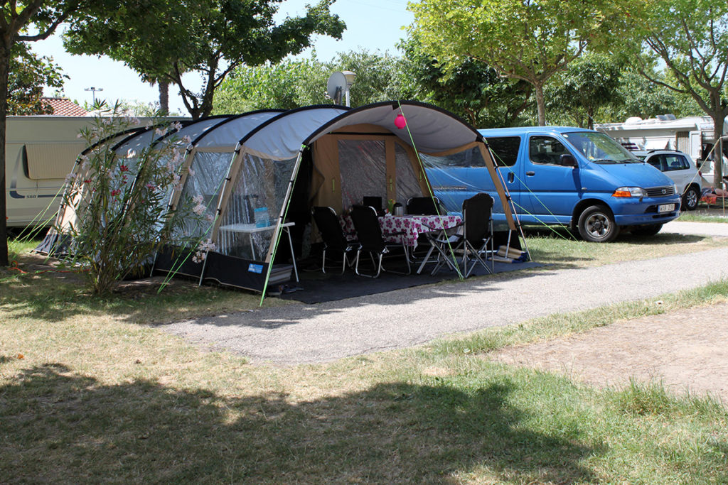 Vår campingplats