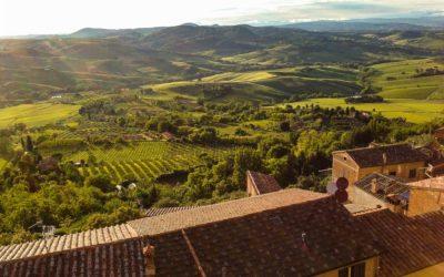Så nära men ändå så långt borta (torsdag i Toscana)