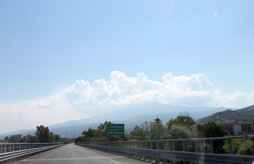 Etna - vilken mäktig syn