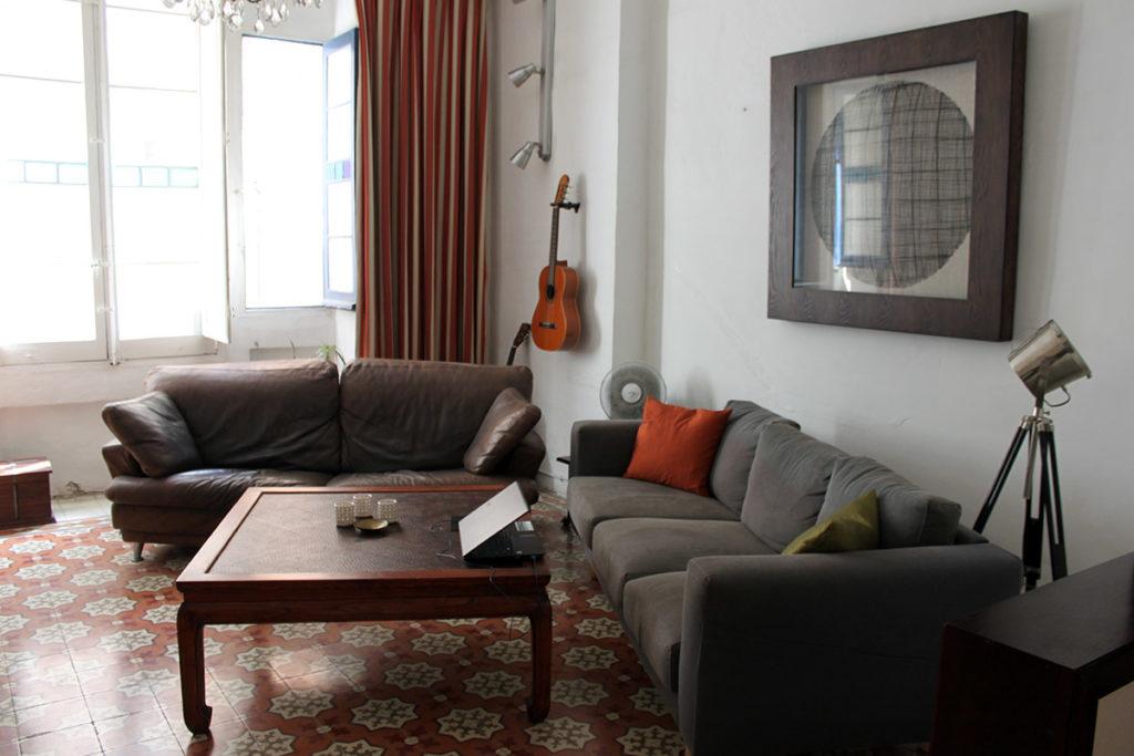 Gamla och nygamla soffan