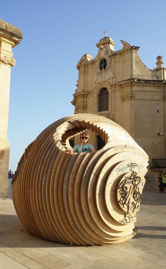 Konstverk i Valletta