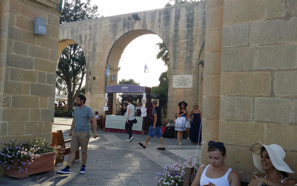 Upper Barrakka Gardens Vinfestival
